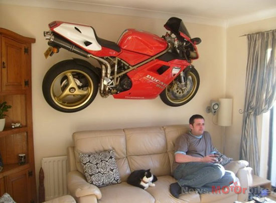 Motorcycle-as-House-Decoration-01
