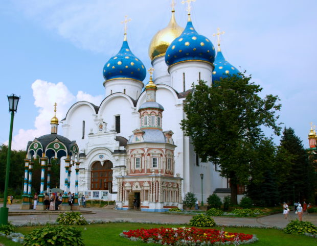 Site-of-the-Architectural-Ensemble-of-the-Trinity-Sergius-Lavra-in-Sergiev-Posad-is-located-on-the-Golden-Ring-Road