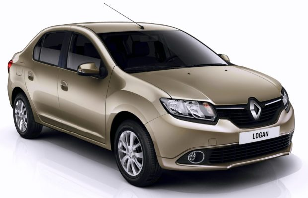 2014-Renault-Logan-front-three-quarter